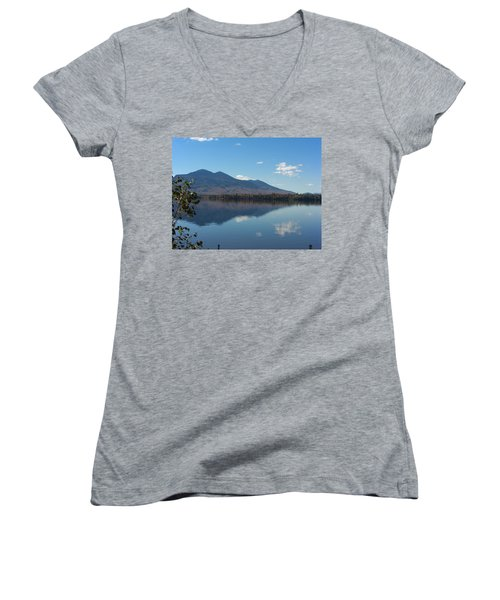 Bigelow Mt View Women's V-Neck T-Shirt
