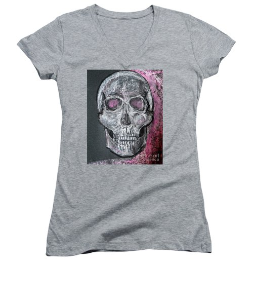 Billie's Skull Women's V-Neck