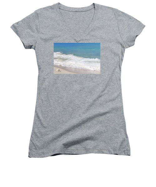 Bimini Wave Sequence 6 Women's V-Neck (Athletic Fit)