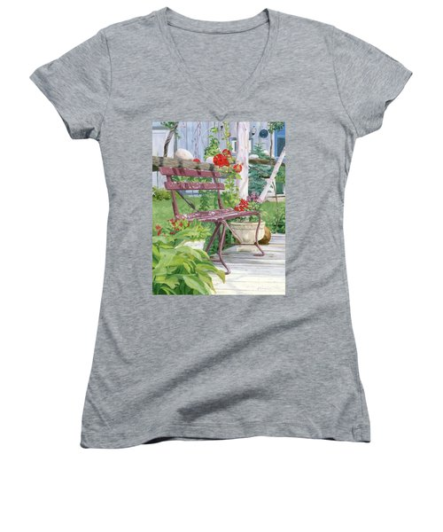 Birch Bark Book Shop Women's V-Neck