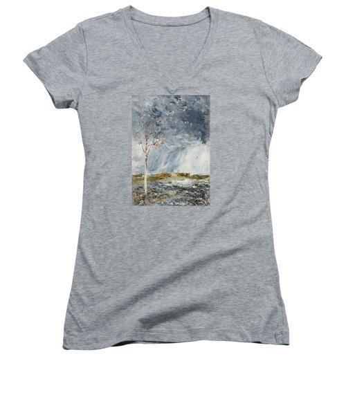Birch I Women's V-Neck T-Shirt