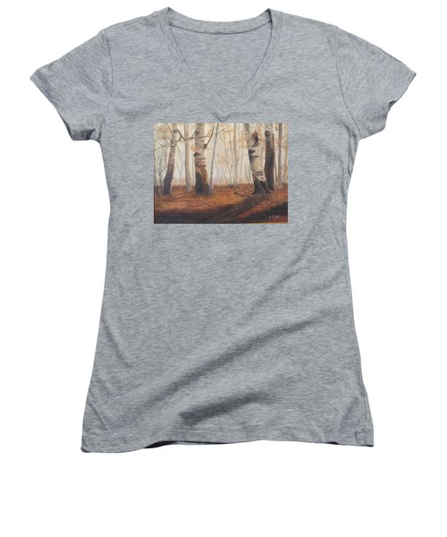 Birches Women's V-Neck