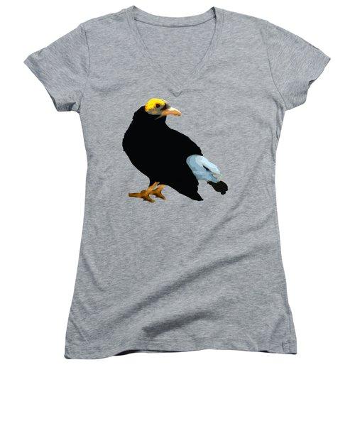 Bird Art Women's V-Neck