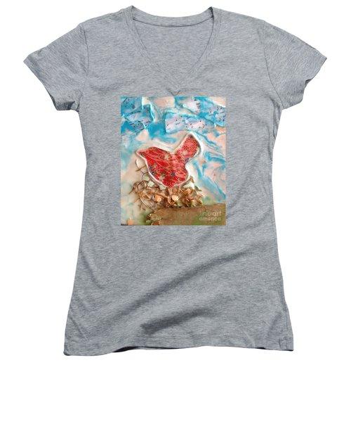 Bird Song Women's V-Neck