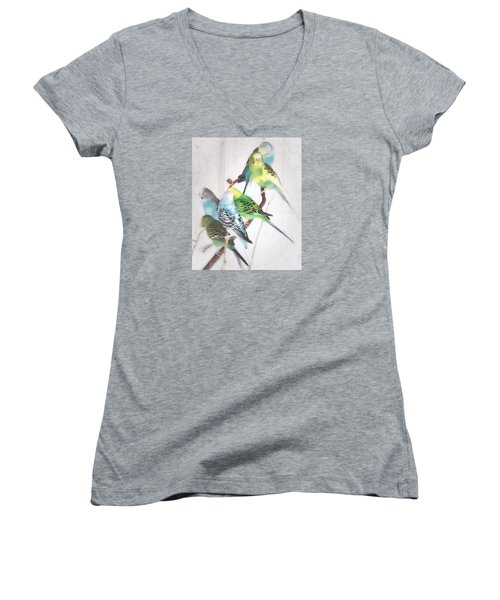 Birds Of A Feather Women's V-Neck T-Shirt