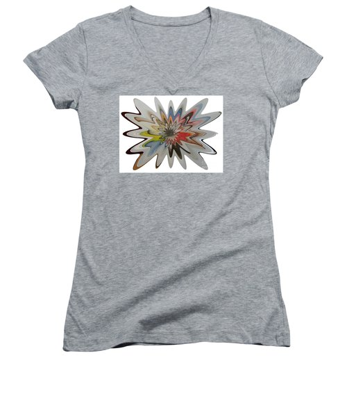 Birth Of A Star Women's V-Neck (Athletic Fit)