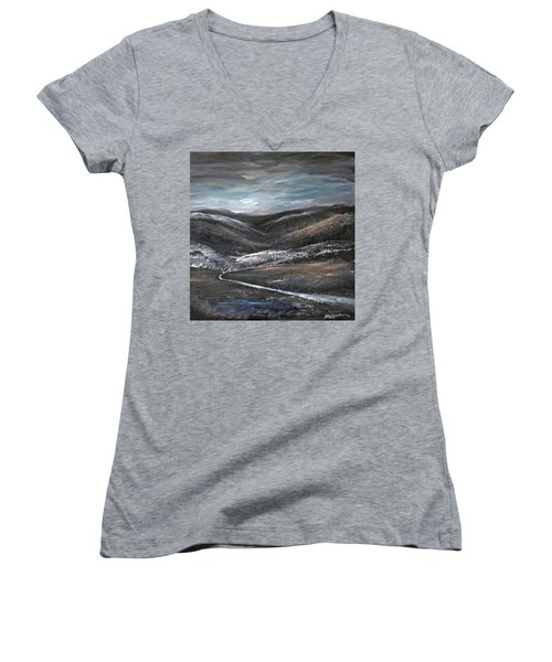 Black Hills Women's V-Neck T-Shirt