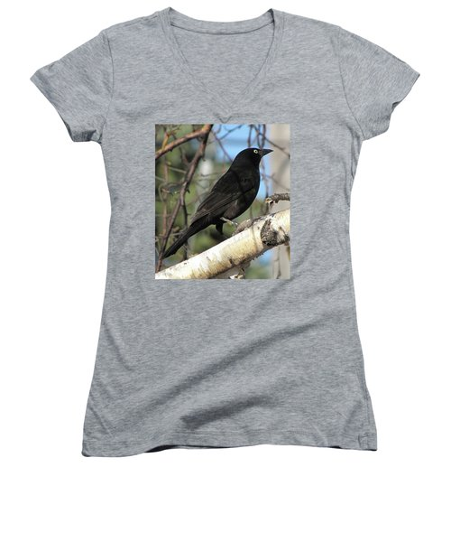 Blackbird Women's V-Neck T-Shirt