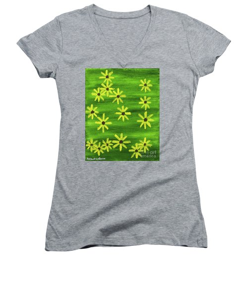 Blackeyed Susan Women's V-Neck T-Shirt