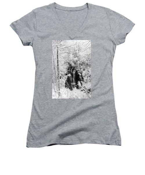 Blanket Of White Women's V-Neck T-Shirt