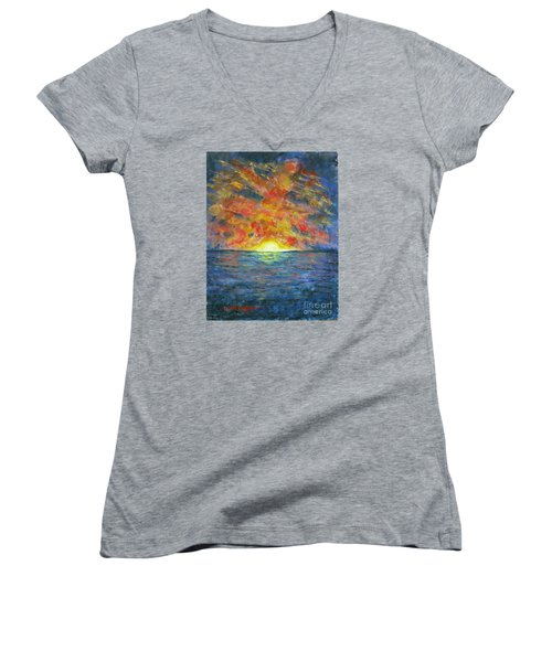 Blazing Glory Women's V-Neck