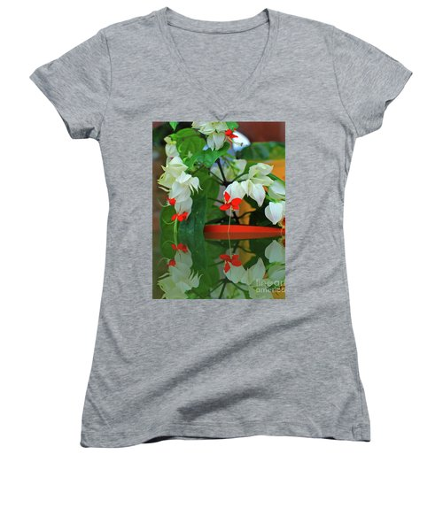 Bleeding Heart I Women's V-Neck