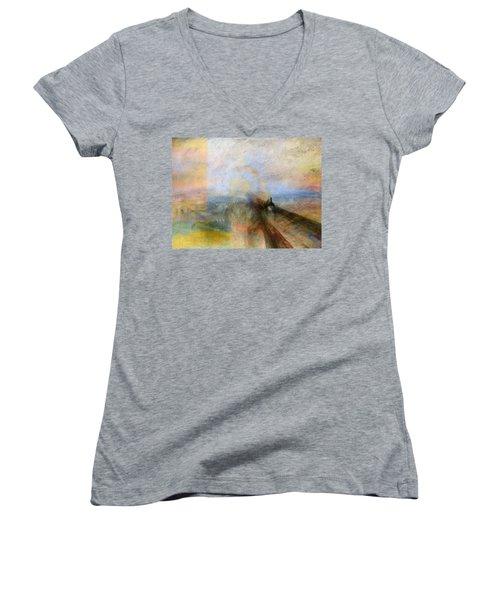 Blend 5 Turner Women's V-Neck T-Shirt