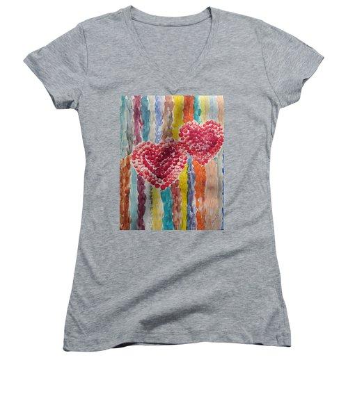 Bliss Women's V-Neck T-Shirt