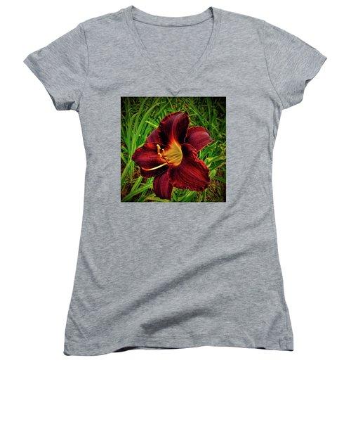 Blood Lily  Women's V-Neck