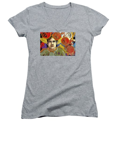 Blood Moon Tetrad Women's V-Neck