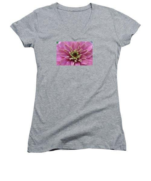 Blooming Flower Women's V-Neck T-Shirt