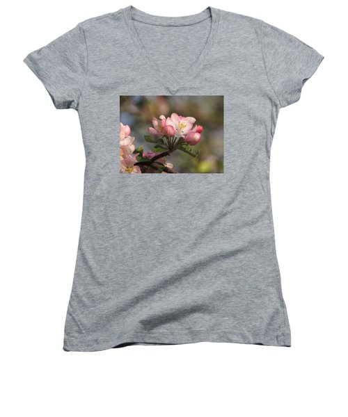 Blooming Women's V-Neck (Athletic Fit)