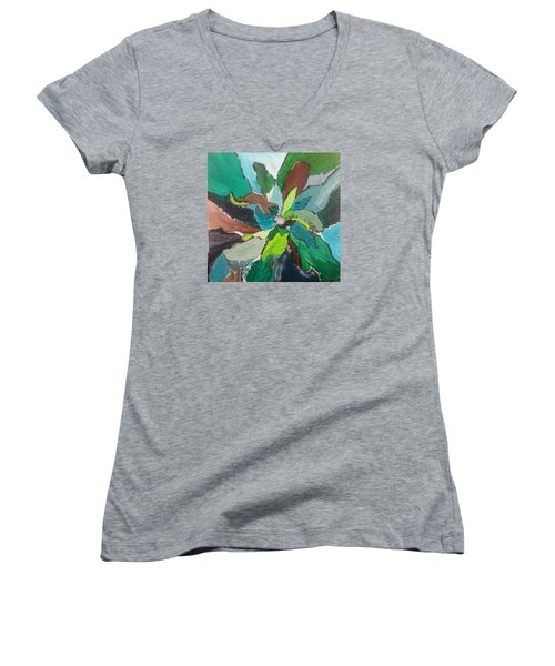 Blossom Women's V-Neck T-Shirt