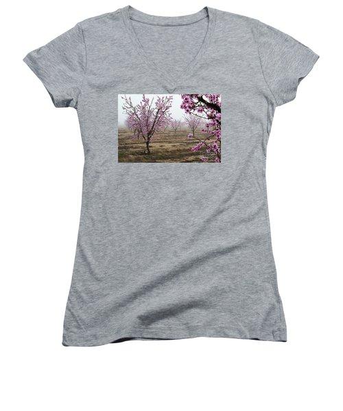 Blossom Trail Women's V-Neck