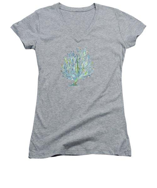 Blue Coral Women's V-Neck