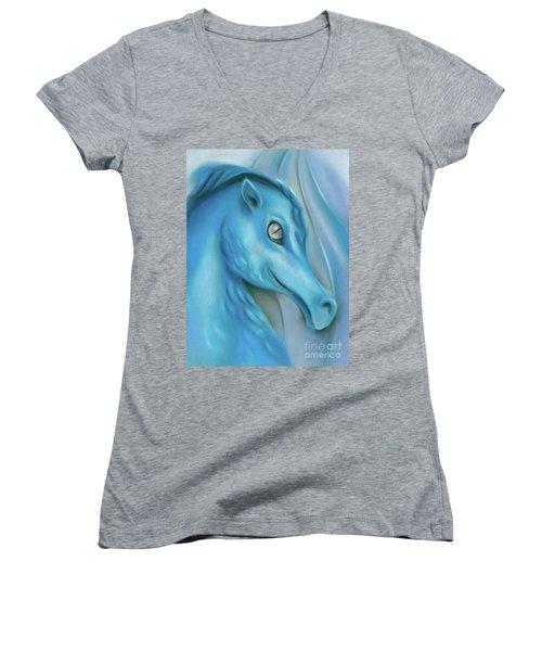 Blue Dragon Women's V-Neck