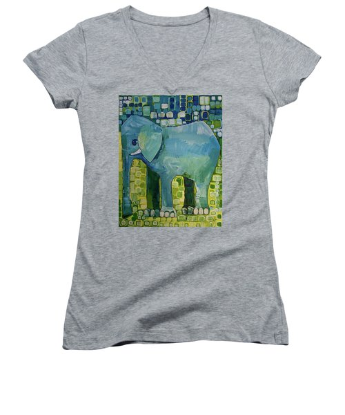 Blue Elephant Women's V-Neck