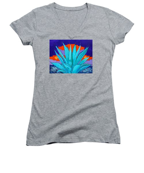 Blue Flame Companion 2 Women's V-Neck T-Shirt
