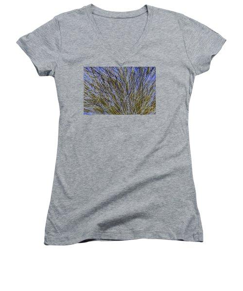 Blue Grass Women's V-Neck