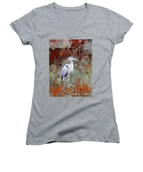 Blue Heron Iv Women's V-Neck (Athletic Fit)
