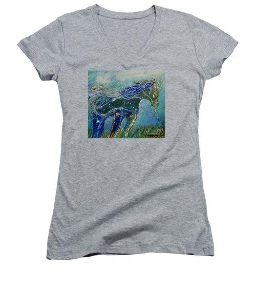 Blue Horse Women's V-Neck