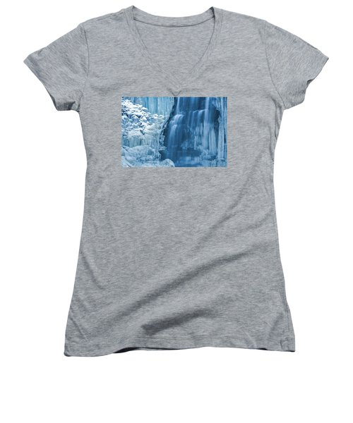 Blue Ice Women's V-Neck T-Shirt
