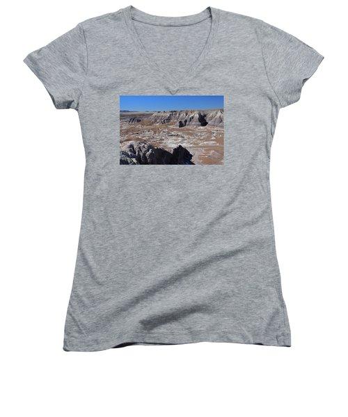 Blue Mesa Women's V-Neck T-Shirt (Junior Cut) by Gary Kaylor