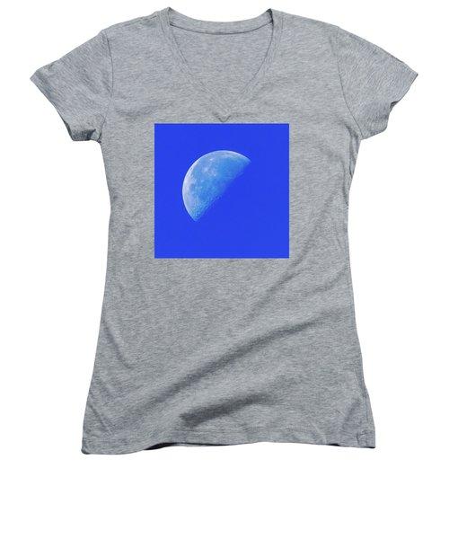 Blue Moon Women's V-Neck