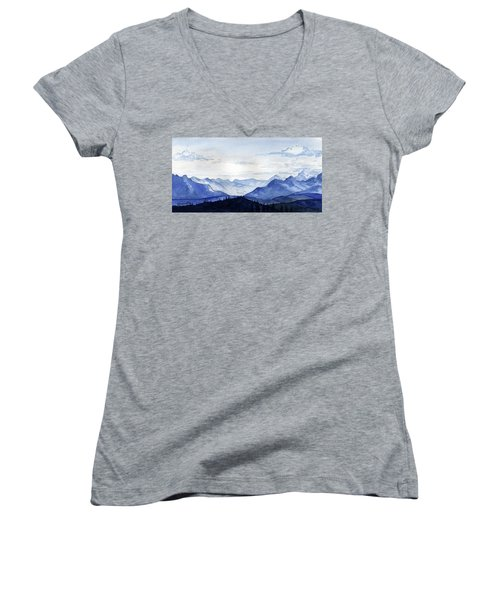 Blue Mountains Women's V-Neck (Athletic Fit)