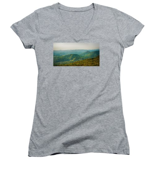 Blue Ridge Mountains Women's V-Neck