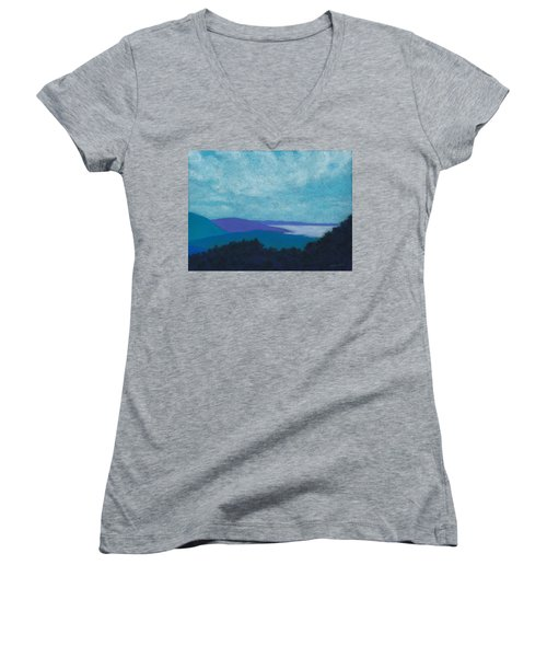 Blue Ridges 3 Women's V-Neck
