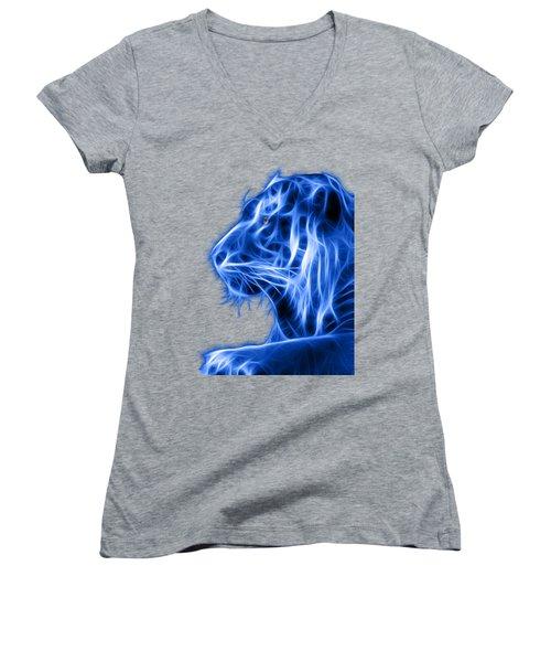 Blue Tiger Women's V-Neck
