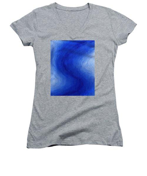 Blue Vibration Women's V-Neck