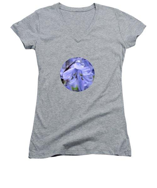 Bluebell Wood Women's V-Neck T-Shirt