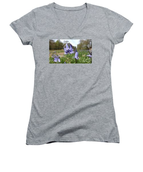Bluebells Women's V-Neck (Athletic Fit)