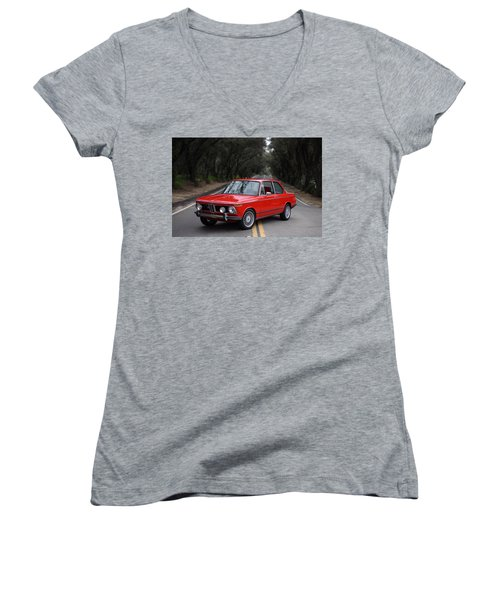 Bmw 02 Series Women's V-Neck