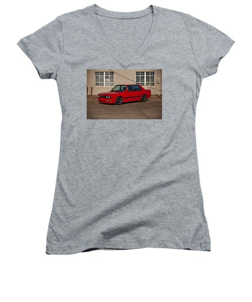 Bmw 5 Series Women's V-Neck