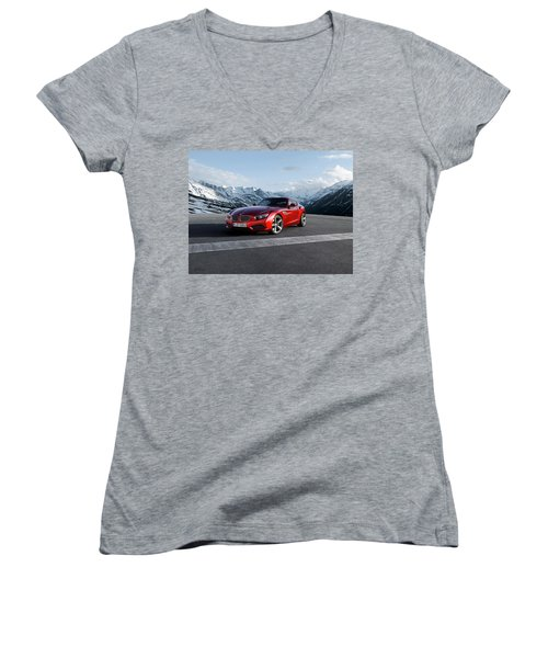 Bmw Zagato Coupe Women's V-Neck