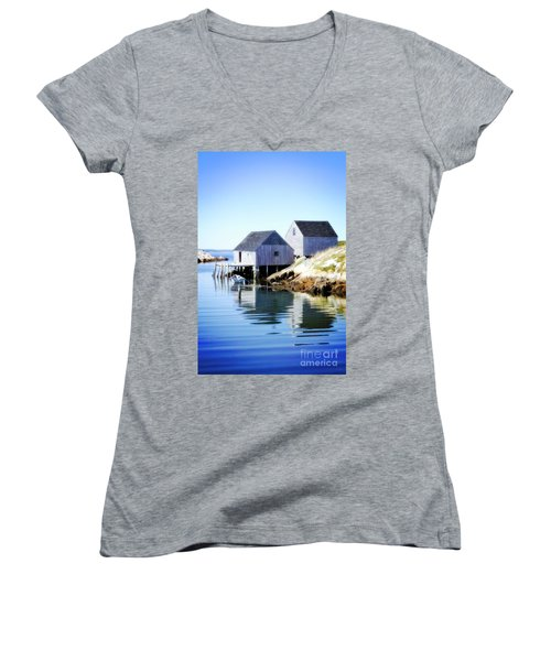 Boat Houses Women's V-Neck