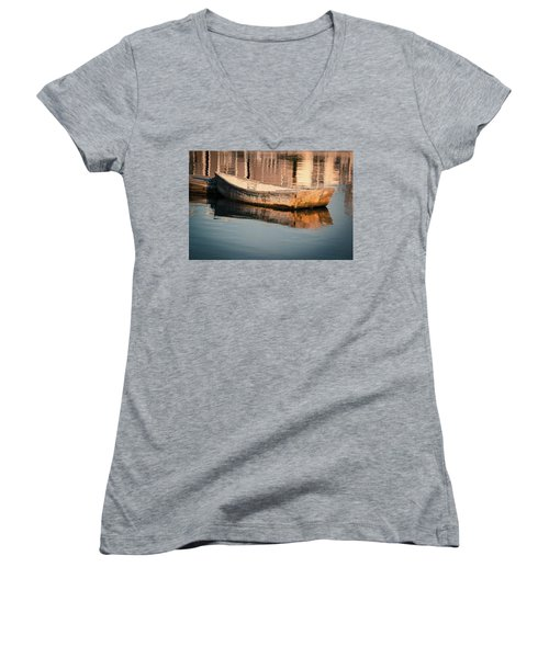 Drifting In Dreams Women's V-Neck (Athletic Fit)
