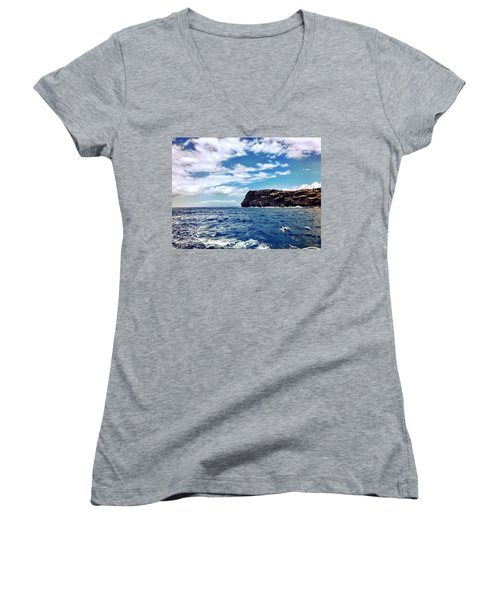 Boat Life Women's V-Neck (Athletic Fit)
