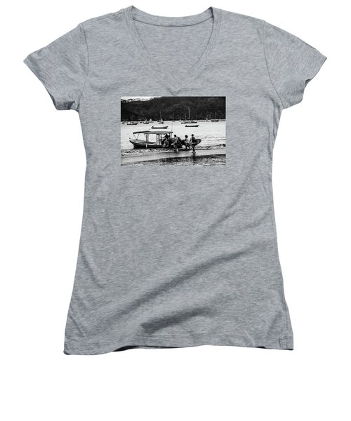 Boats And Boards  Women's V-Neck