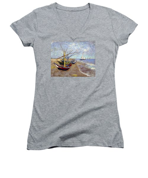 Boats Women's V-Neck