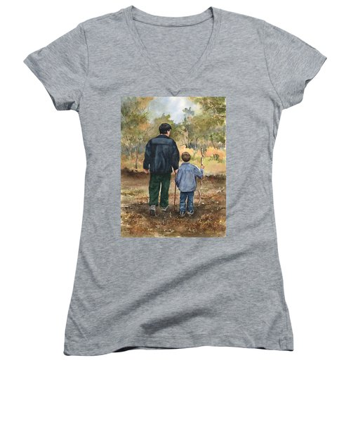 Bob And Alex Women's V-Neck T-Shirt